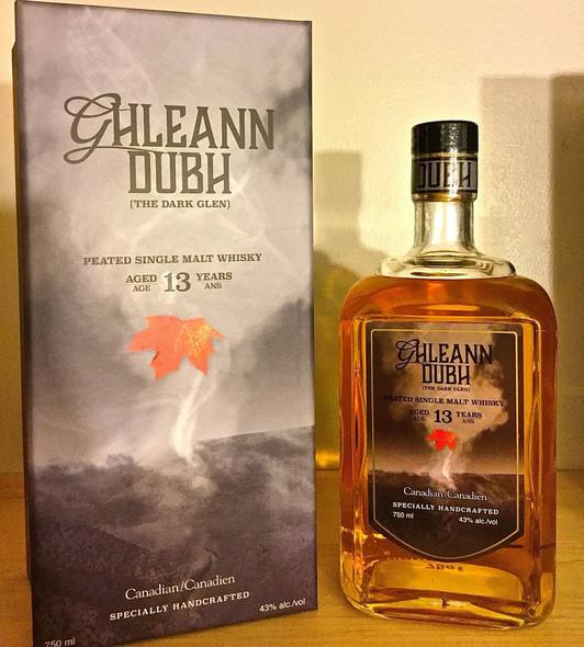 Glen Breton Ghleann Dubh Peated Single Malt Whisky  |  Shop Whisky Online