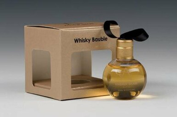 Fillable Whisky bauble
