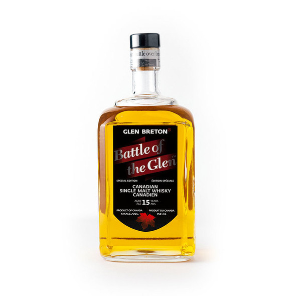 Glen Breton Battle of the Glen Canadian single malt whisky | Buy Whisky Online