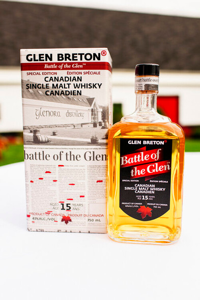 Glen Breton Battle of the Glen Canadian single malt whisky | Online Whisky Sales