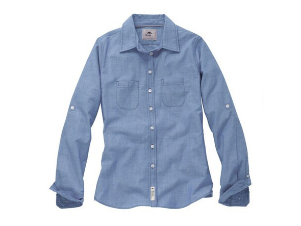 """Women's Roots73 Clearwater Long Sleeve Shirt with Glen Breton """"G"""""""