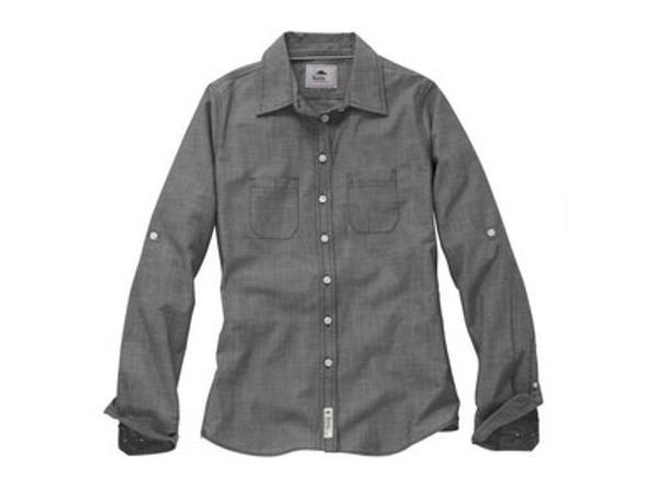 """Men's Roots73 Clearwater Long Sleeve Shirt with Glen Breton """"G"""""""