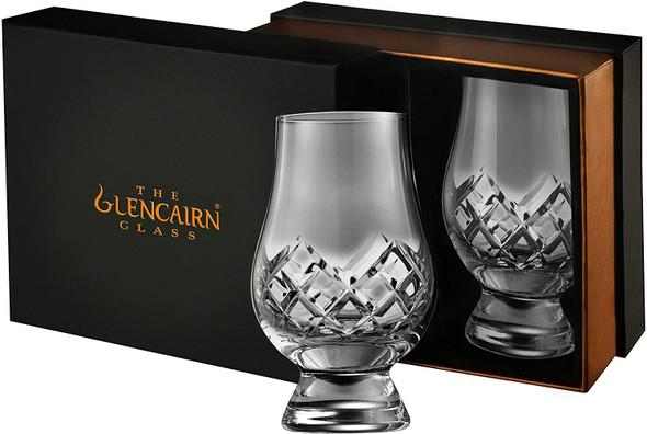 Cut Glencairn Whisky Glass- Set of 2