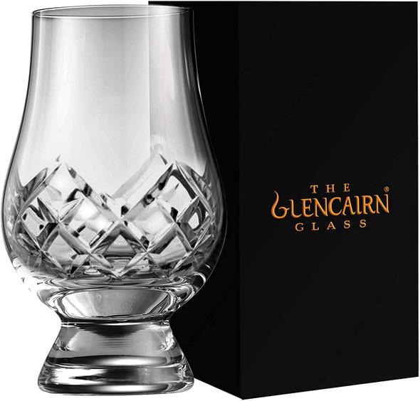 Cut Glencairn Whisky glass