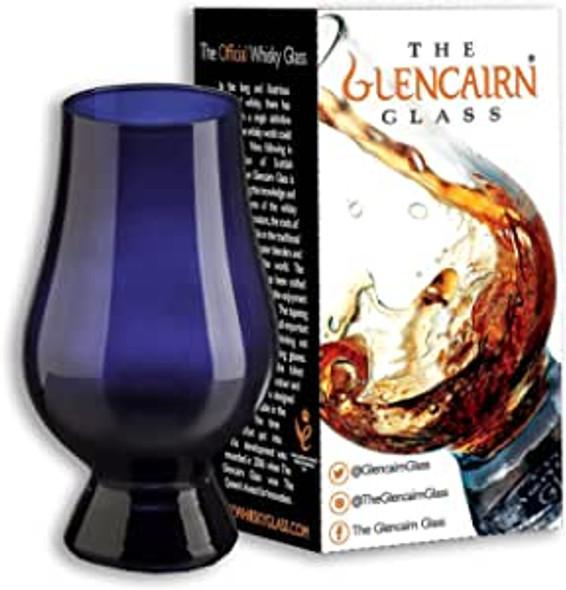 Blue Glencairn Whisky Glass