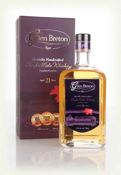 Glen Breton Rare 21 Year Old Single Malt Whisky | Shop Whisky Online