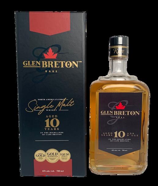 Glen Breton Rare 10 Year Old Single Malt Whisky    Buy Whisky Online