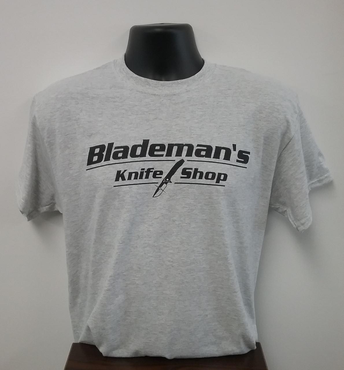 Blademan's Knife Shop Logo T