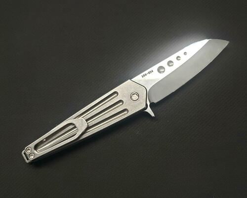 Medford Nosferatu FL Tumb handle/Tumb Blade