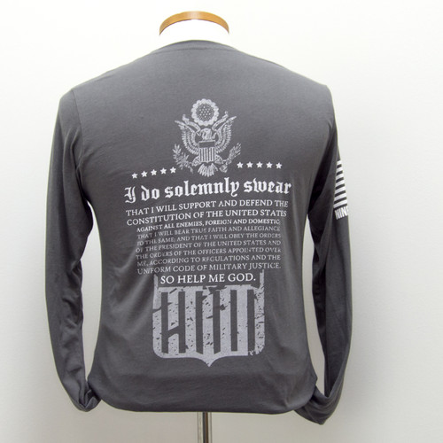 Nine Line Oath LS Tshirt