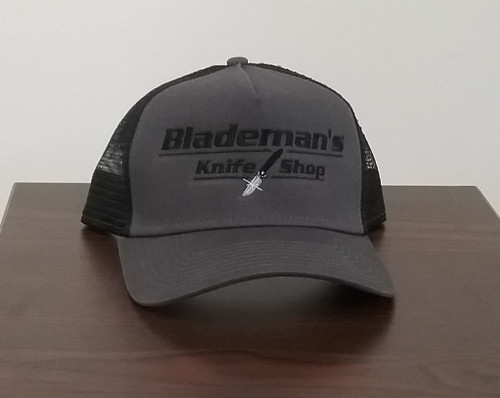 Blademan's Knife Shop Logo Hat Charcoal/Blk