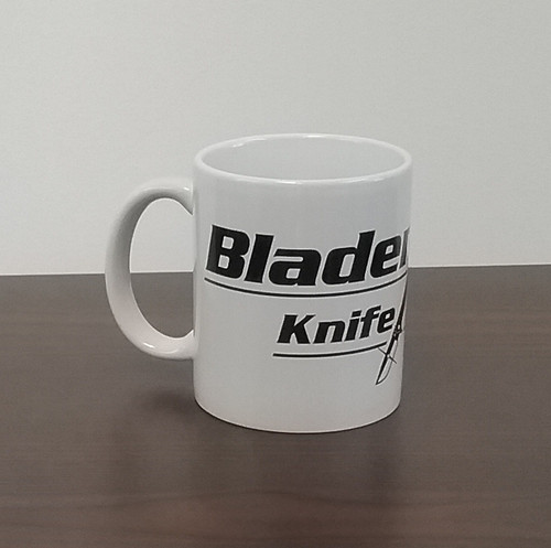 Blademan's Knife Shop Logo Mug