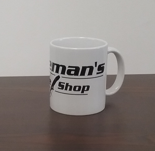Blademan's Knife Shop Logo Mug