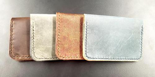 Wood N Steel 2 Pocket Wallet