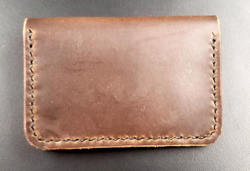 Wood N Steel 2 Pocket Wallet