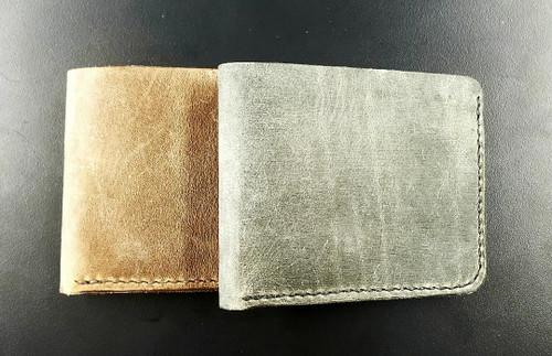 Wood N Steel Bi-fold Wallet
