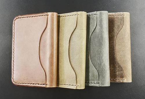Wood N Steel 3 Pocket Wallet