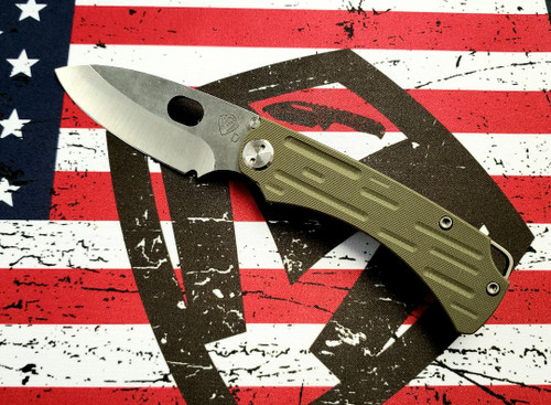 Medford Colonial G/T - D2 Tumbled Blade/OD Green