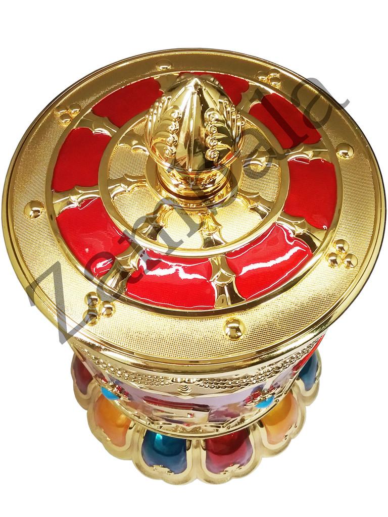 Mani Mantra Prayer wheel (Hand pulling )
