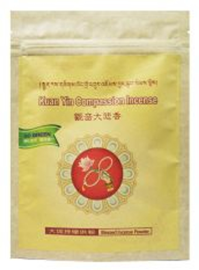 KuanYin Compassion Incense Powder - 2.65 Ounces / 75 Grams