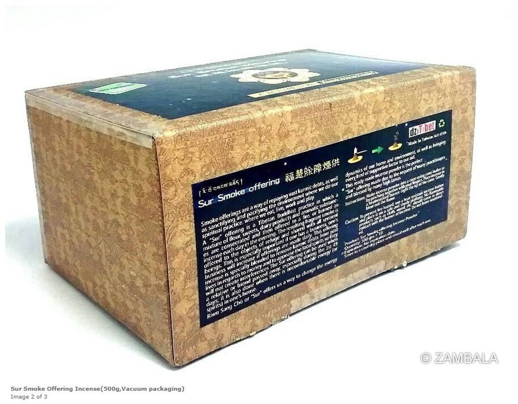 Sur Smoke Offering Incense (500 gm,Vacuum Packaging)
