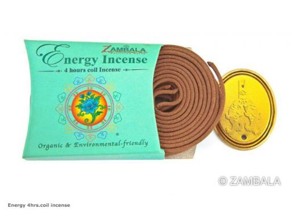 Energy 4 Hr Coil Incense