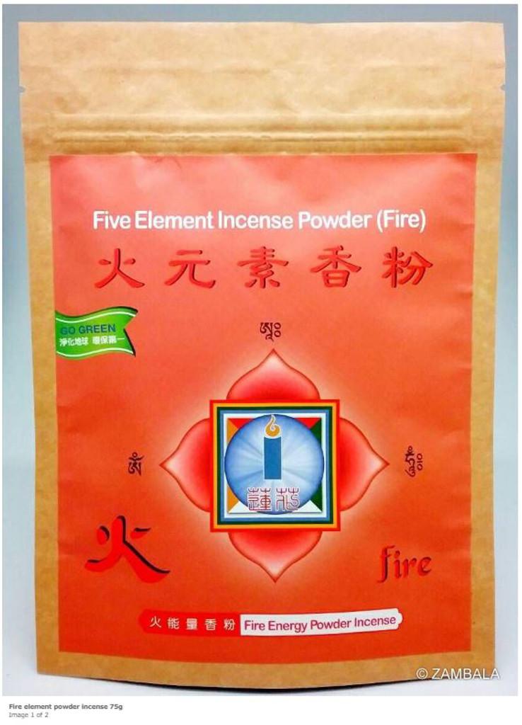 Fire Element Powder Incense 75 gm