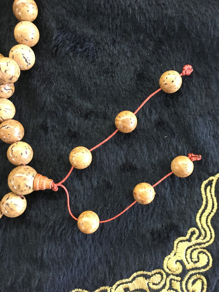 Dragon Eye Bodhi Seed 108 10mm Bead Mala