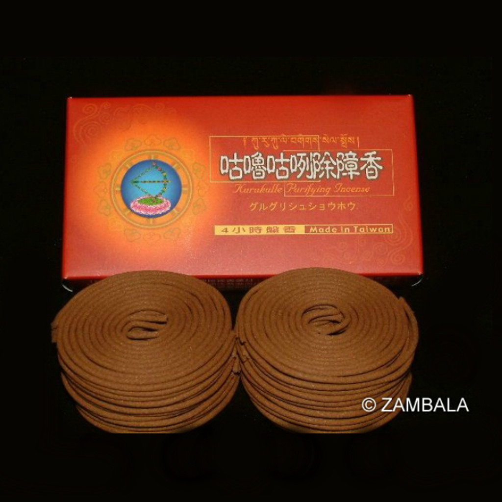 4 Hours Kurukulle Coil Incense - 48 Coils