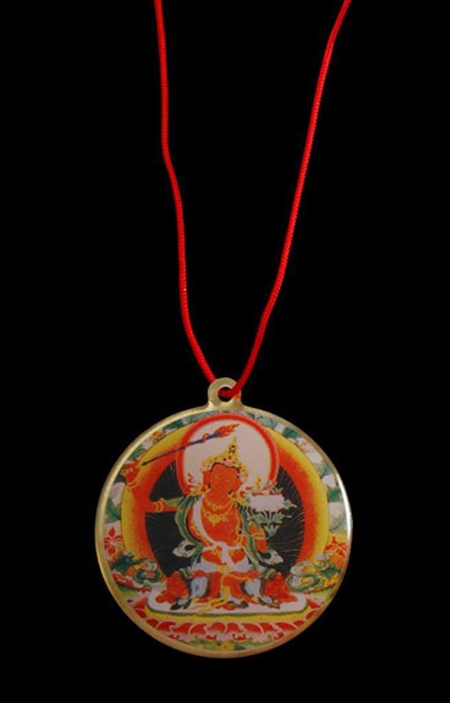 King Gesar / Guru Rinpoche Deity Pendant