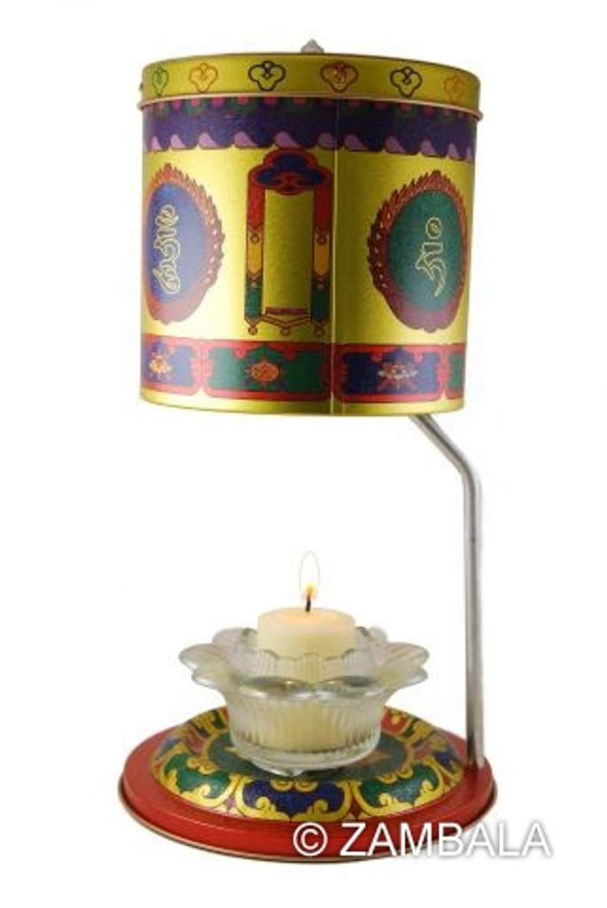 5 Zambala Prayer Wheel
