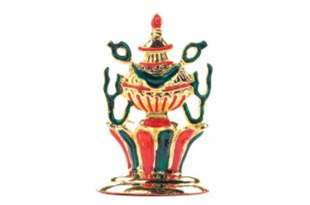 8 Auspicious Symbol Set - Gold Plated