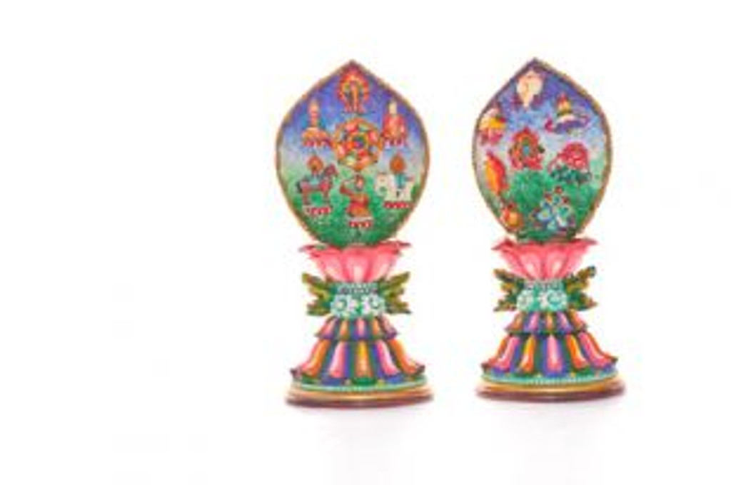 7 Jewels and  8 Auspicious Symbols In One