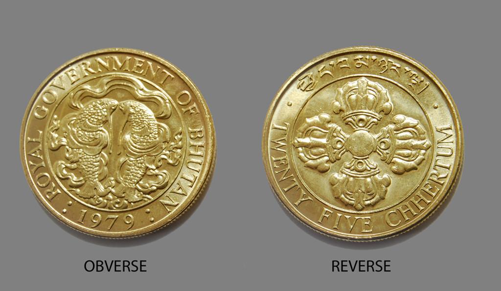 Bhutanese Auspicious Coin
