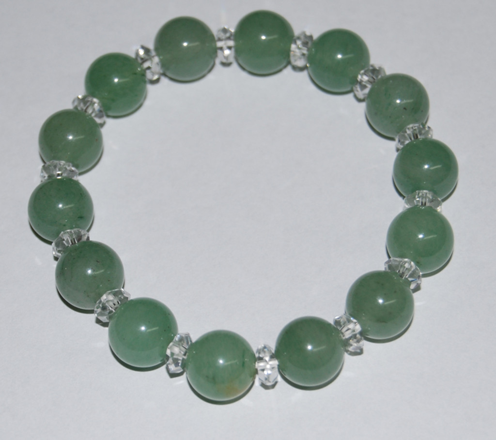 Assorted Stones With Crystal Bracelet