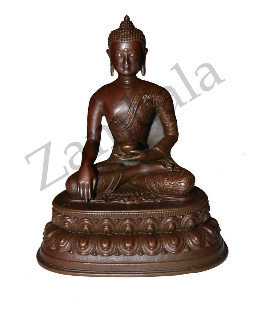 Sakyamuni Buddha Copper Statue- 3 Inches