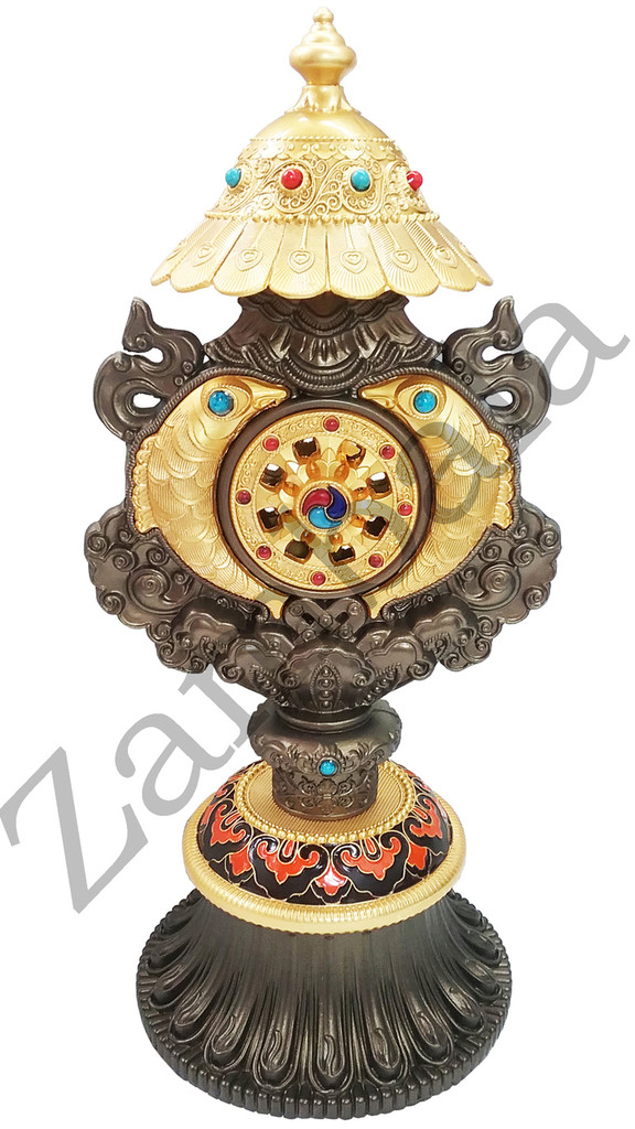 Eight  Auspicious Symbol All-In-One Copper Brass