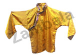 Tiibetan Shirt (yellow with brocade)