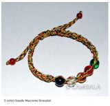5 Color/beads Macrome Bracelet