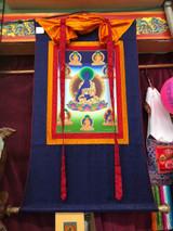 Medicine Buddha Thangka—Hand Painted