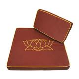 Large Lotus Meditation Cushion 2 Piece Set
