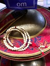 Stars & Moon Bodhi Seed  Mala (Polished) 108 7mm Beads