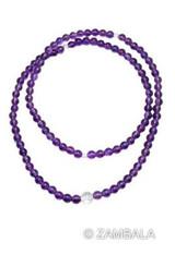 Amethyst Mala 108 6mm Beads