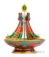 Destroying( Five Vajra ) Mandala 24 Hour Incense Burner