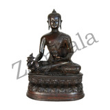 Medicine Buddha Copper Statue - 5 Inches