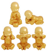 Joyful Monk Set of 5