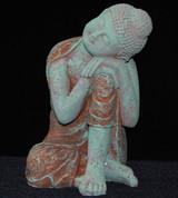 Relaxing Buddha Antiqued