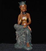 Thinking Buddha 9 Inch