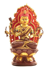 "Ainan Ming Wang  8"" Statue"