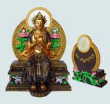 """Maitreya Buddha 9"""" Statue"""
